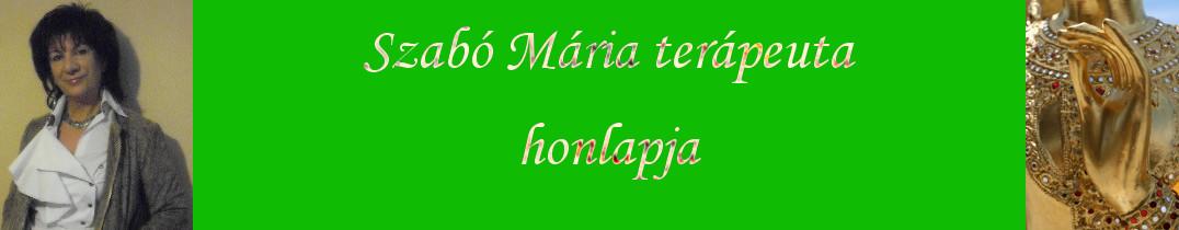 Szabó Mária terápeuta honlapja